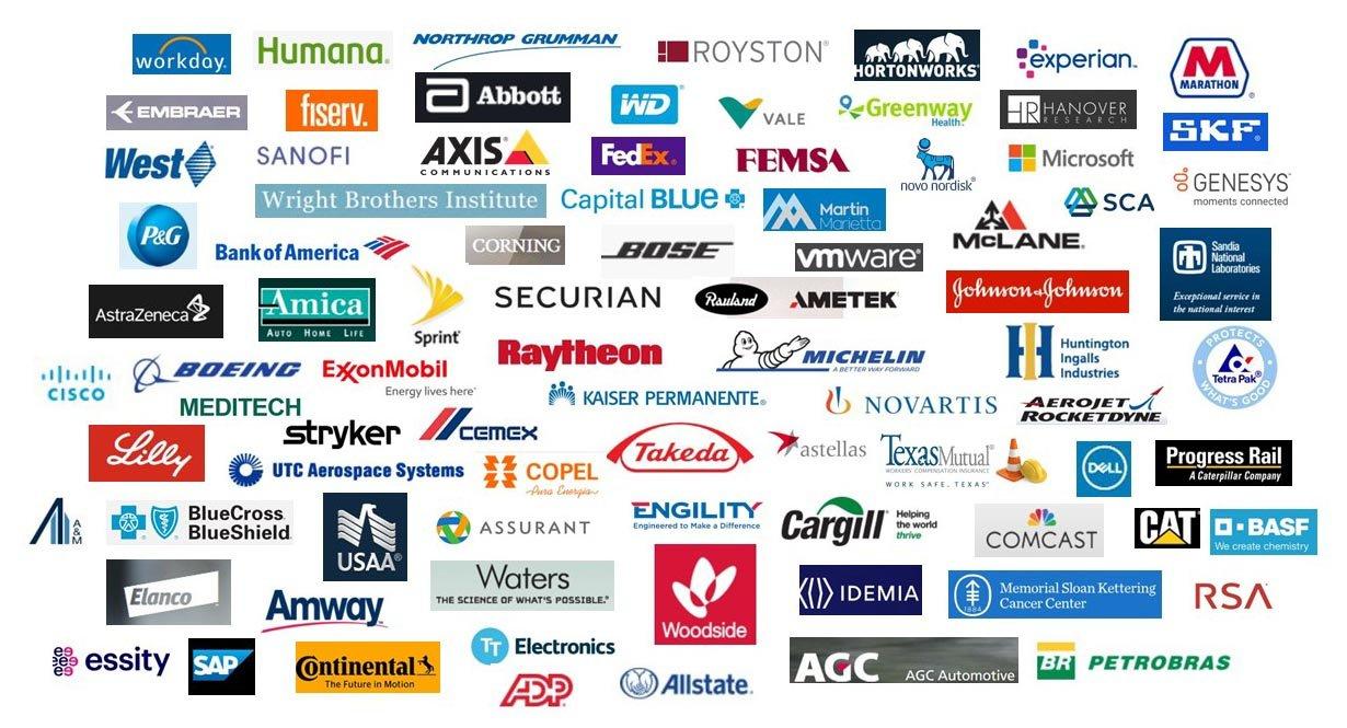 alumni company logos
